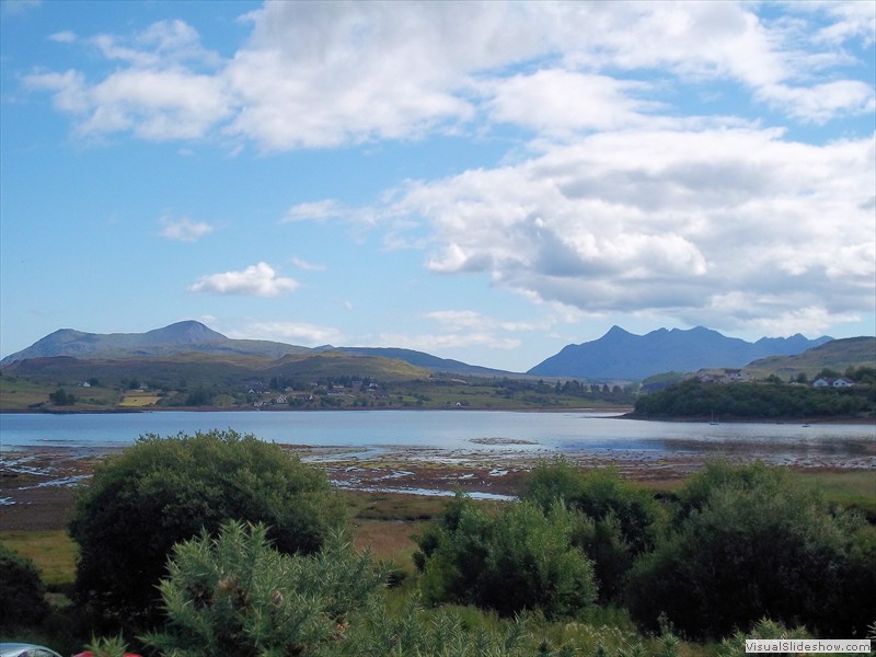 The Cuillins from Portree 2011 100