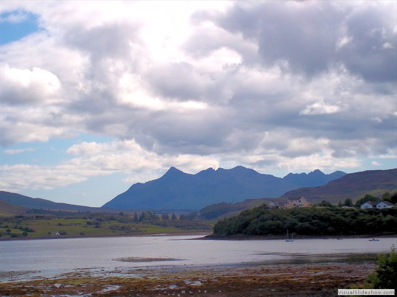 The Cuillins from Portree  088